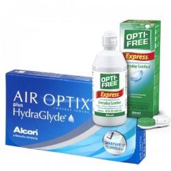 AIR OPTIX Plus HydraGlyde+ Opti-free Express 355ml - Pack