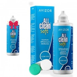 ALL CLEAN SOFT - solution 350 ml +60ml Gift