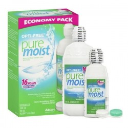 Opti - free PureMoist 300ml +60ml Gift