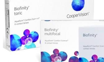 How do Biofinity and Biofinity Energys differ?