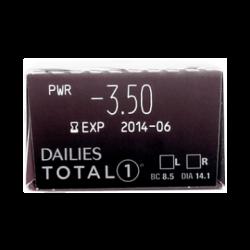 Dailies Total 1- 30 pcs. + 5 Gift