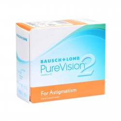 PureVision For Astigmatism 2  (6 pcs.)