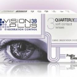 Vision 38 Plus UV Hydrogеl  (3 lenses)